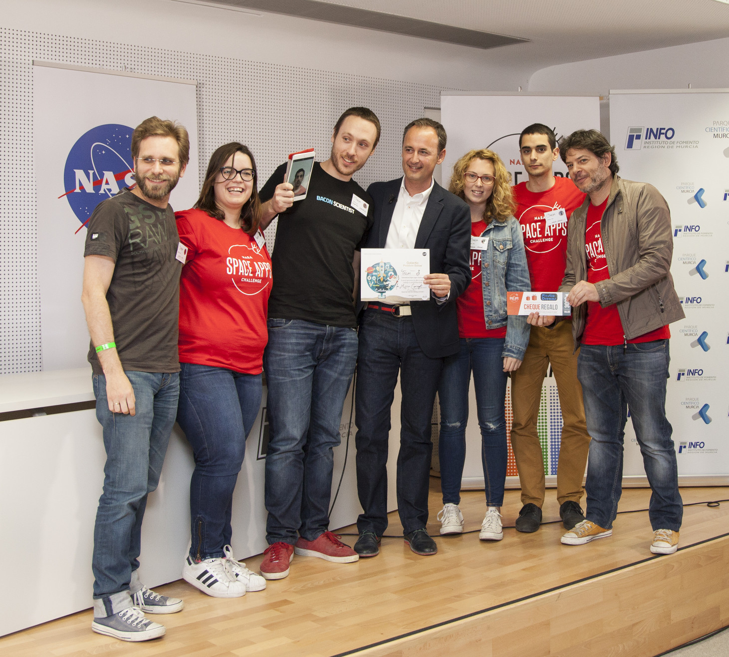 Space Apps Murcia 2016 - Equipo δ